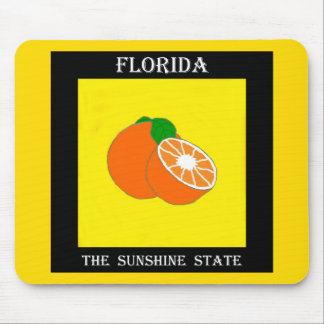 Florida Sunshine State.jpg Mouse Pad