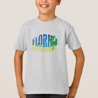 Florida Sunshine Summery Text Graphic T-Shirt