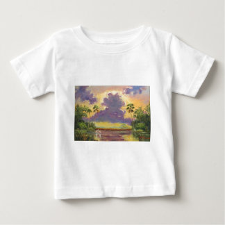 Florida Sunshine with Purple Clouds Baby T-Shirt