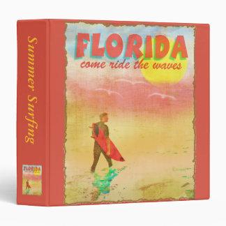Florida Surfer Scrapbook Binder