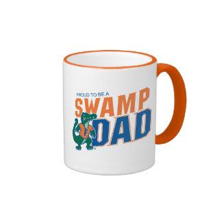 Florida Swamp Dad Ringer Coffee Mug