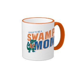 Florida Swamp Mom Ringer Coffee Mug