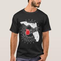 Florida Teacher Gift - FL Teaching Home State T-Shirt