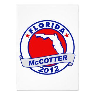 Florida Thad McCotter Personalized Invitations