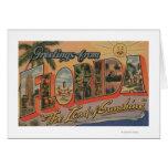Florida - The Land of Sunshine Card