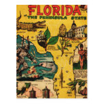 Florida The Peninsula State Post Cards