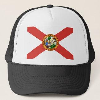 Florida the Sunshine State Flag Trucker Hat