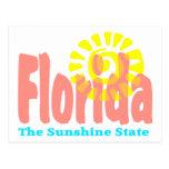 Florida The Sunshine State Postcards