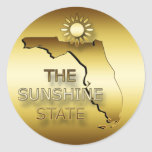 FLORIDA THE SUNSHINE STATE STICKER