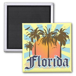 Florida The Sunshine State USA 2 Inch Square Magnet