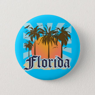 Florida The Sunshine State USA Button