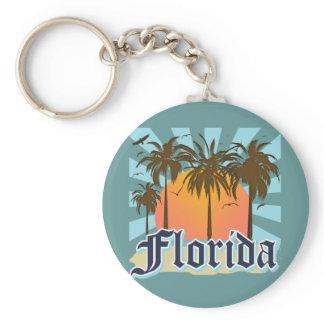 Florida The Sunshine State USA Keychain