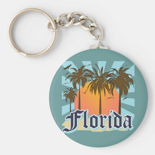Florida The Sunshine State USA Key Chains