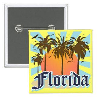 Florida The Sunshine State USA Pinback Button