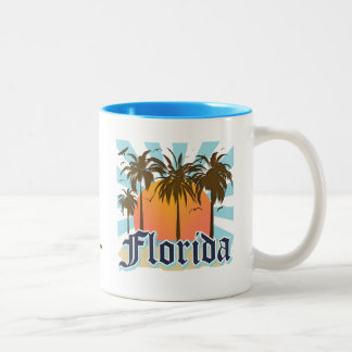 Florida The Sunshine State USA Two-Tone Coffee Mug