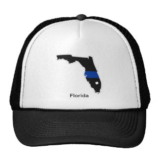 Florida Thin Blue Line Trucker Hat
