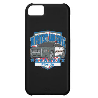 Florida To Protect and Serve Police Car iPhone 5C Case