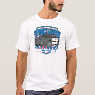 Florida To Protect and Serve Police Car T-Shirt