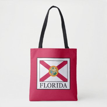 Beach Themed Florida Tote Bag