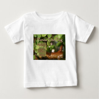 Florida Tree Frog Design with explanation text Baby T-Shirt
