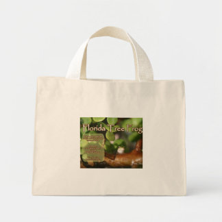 Florida Tree Frog Design with explanation text Bag