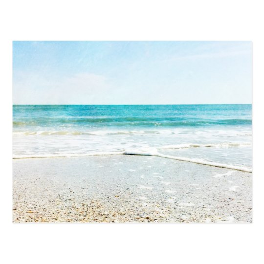 Tropical Beach And Peaceful Ocean: Florida Tropical Beach Sand Ocean Waves Sea Shells