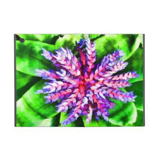 Florida Tropical Garden Blue Bromeliad Aechmea Case For iPad Mini