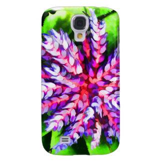 Florida Tropical Garden Blue Bromeliad Aechmea Samsung S4 Case