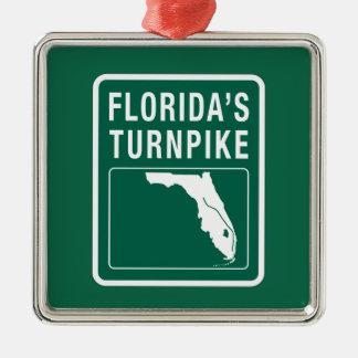 Florida Turnpike, Florida Metal Ornament