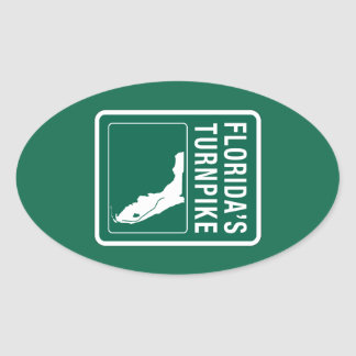 Florida Turnpike, Florida Oval Sticker