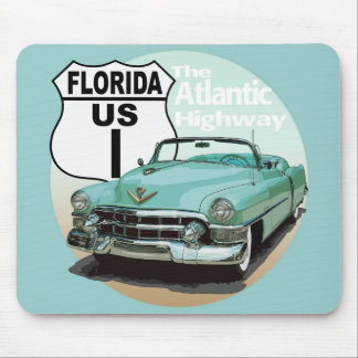 Florida US Route 1 - The Atlantic Highway Mouse Pad