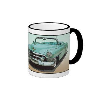 Florida US Route 1 - The Atlantic Highway Ringer Coffee Mug