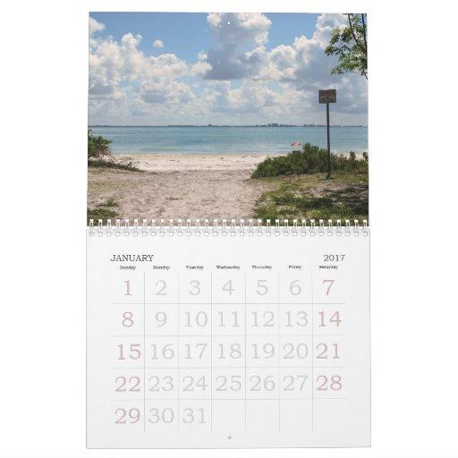 Florida USA  2011 Calendar