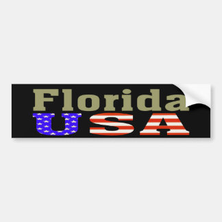 Florida USA! Bumper Sticker