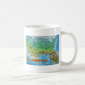 Florida USA Map Coffee Mug