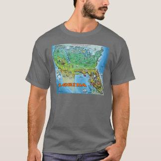 Florida USA Map T-Shirt