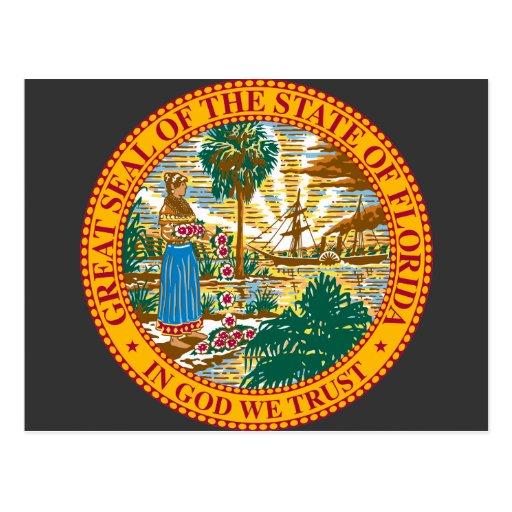 Florida, USA Postcard