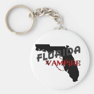 FLORIDA vampire Basic Round Button Keychain
