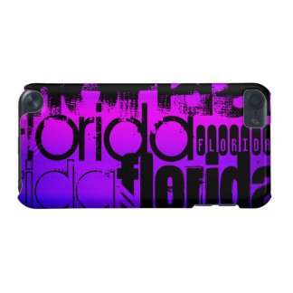 Florida; Vibrant Violet Blue and Magenta iPod Touch (5th Generation) Cover