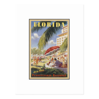 Florida Vintage Travel Postcard