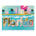 Florida Vintage vacation Poster Post Cards