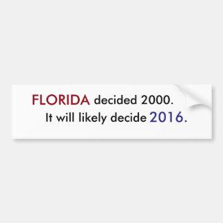 Florida Vote Bumper Sticker