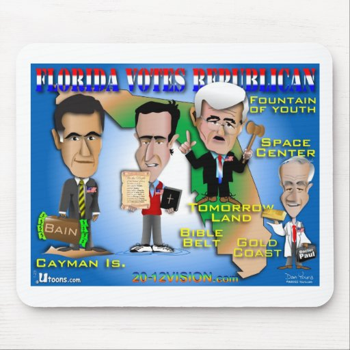 Florida Votes 4 Republicans Mouse Pads