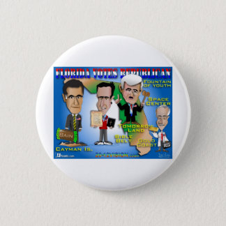Florida Votes 4 Republicans Pinback Button
