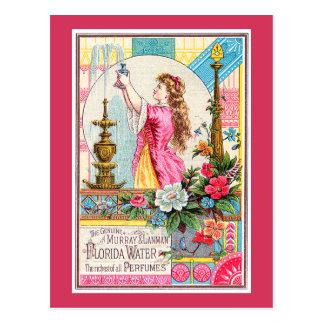 Florida Water Perfumes Postcard