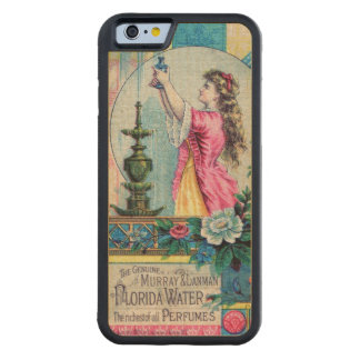 Florida water vintage perfume ad victorian deco carved® maple iPhone 6 bumper case