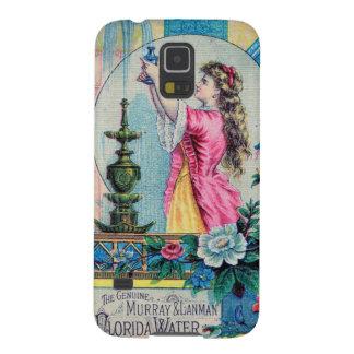 Florida water vintage perfume ad victorian deco galaxy s5 case