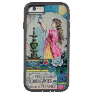Florida water vintage perfume ad victorian deco tough xtreme iPhone 6 case