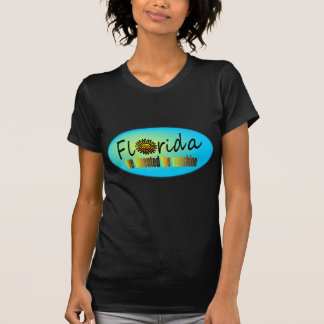 Florida - We Invented The Sunshine, With Big Sun T Shirt