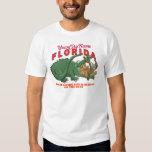 Florida - Where Living Life is Always on the Edge Tshirt